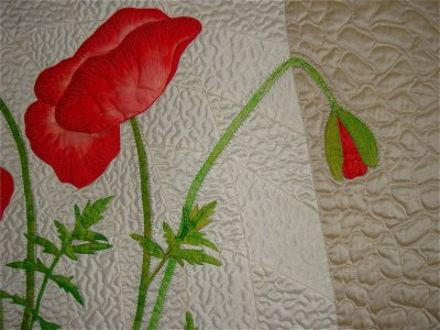 RED POPPIES, détail